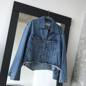 70277431ee6a DL1961 Jackets   Coats - DL1961 Zoe Cutoff Jean    Denim Jacket    Coat
